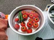 トマトとキュウリも大人気でした。